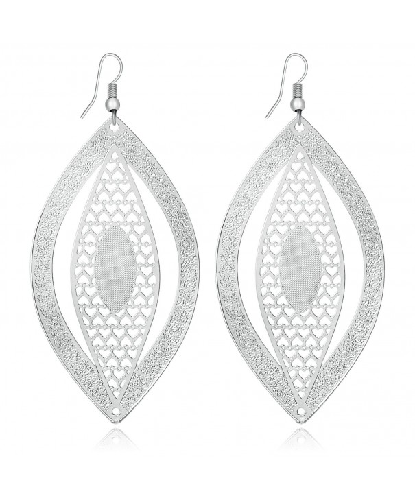 Fashion Novelty Earrings Hollow Shapes