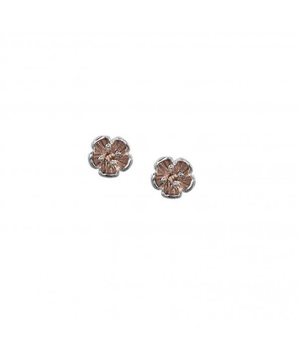 Boma Sterling Silver Flower Studs