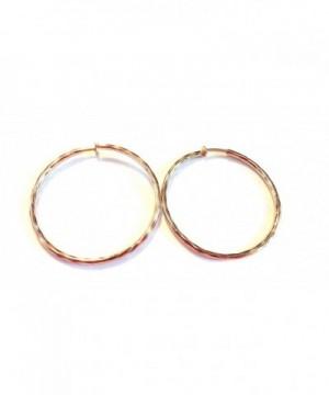 Clip Earrings Hypoallergenic Hoop 2 25