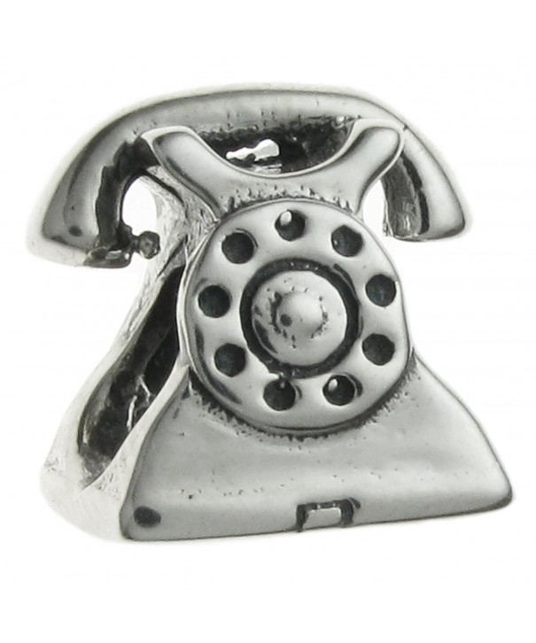 Sterling Silver Antique Telephone European