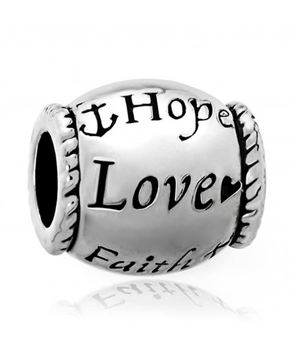 LovelyJewelry Charms Silver Plated Bracelets