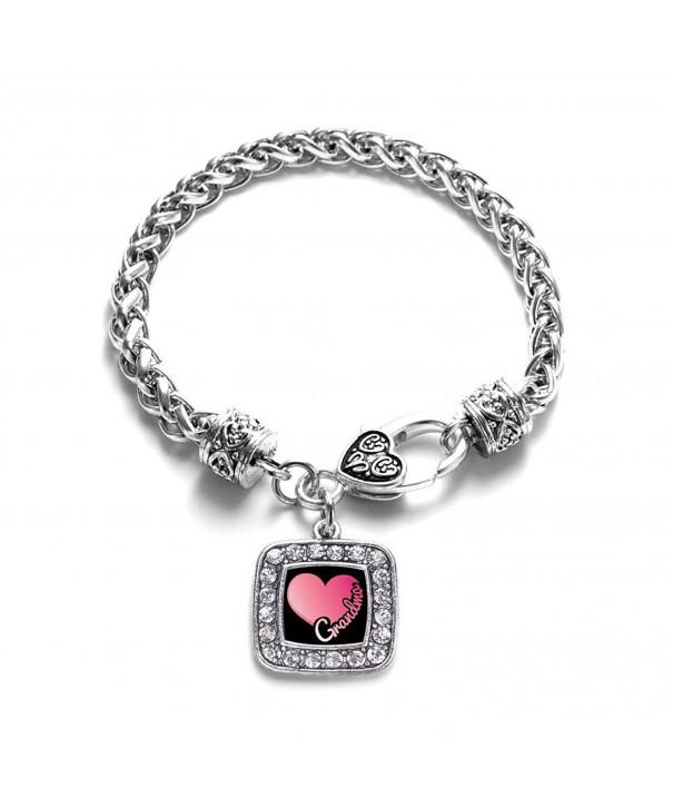 Grandma Classic Silver Crystal Bracelet