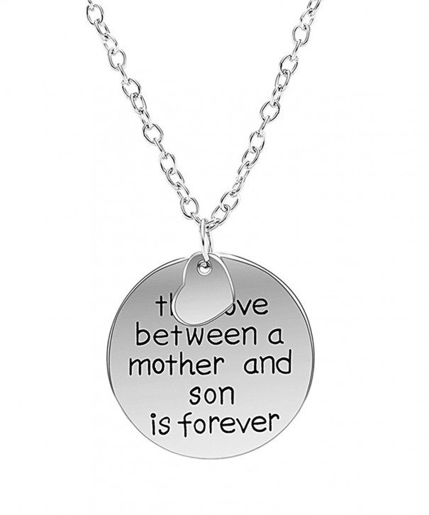 Genluna Forever Engraved Two Piece Necklace
