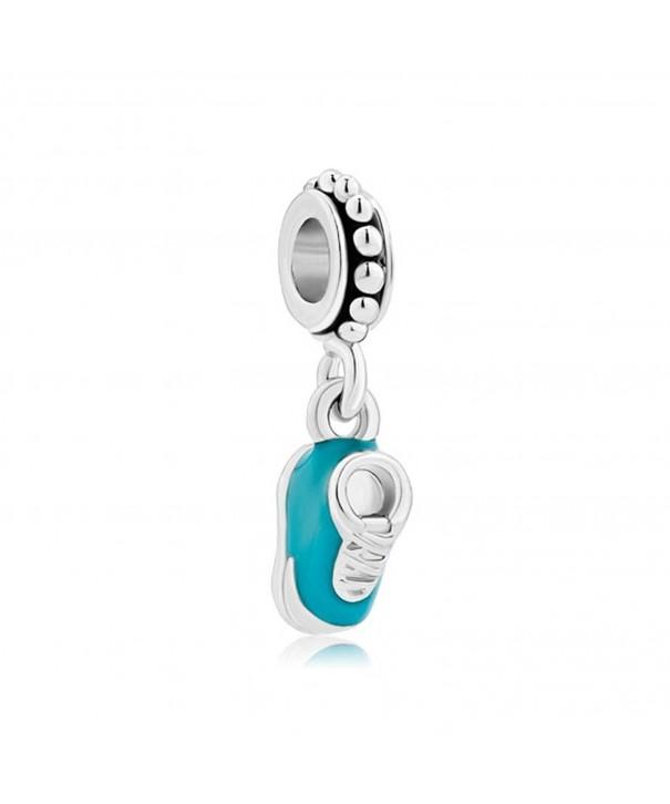 LovelyJewelry Charm Dangle Beads Bracelet