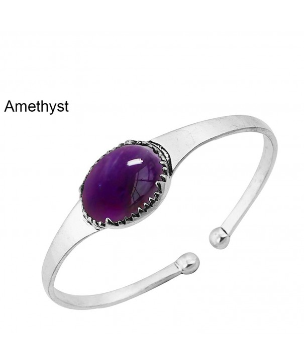 14 50ctw Genuine Amethyst Silver Plated