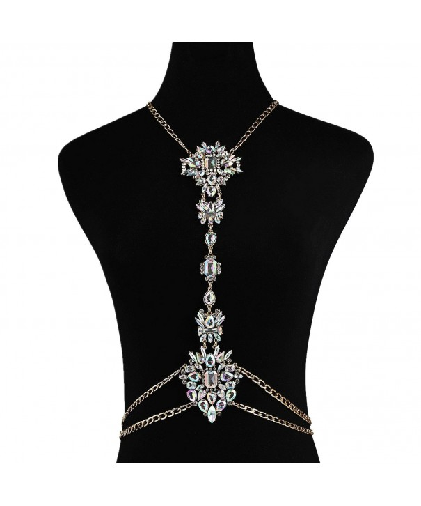 Chain Crystal Novelty Necklace Box STL01