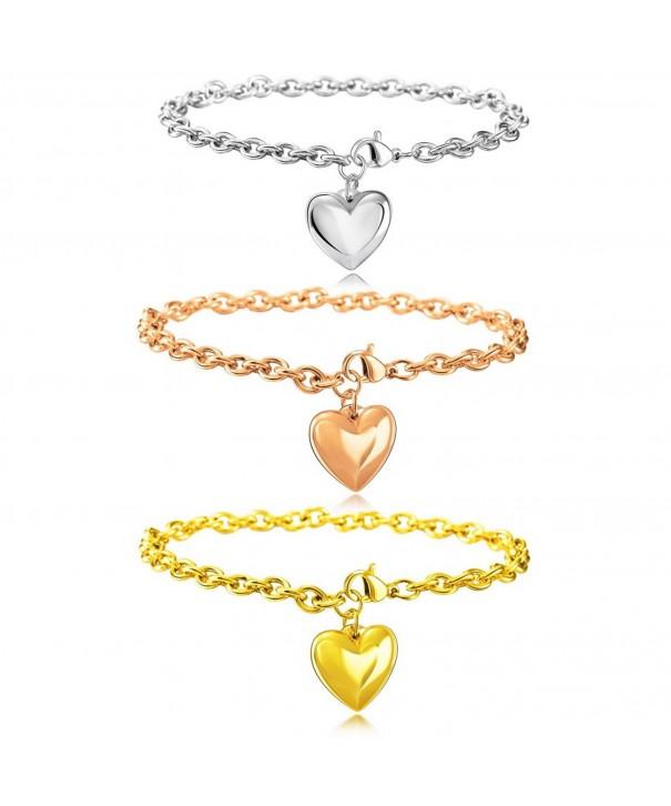 MOWOM Three Stainless Steel Bracelet