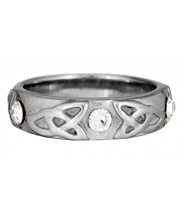 Quantum Jewelry Stainless Steel Trinity
