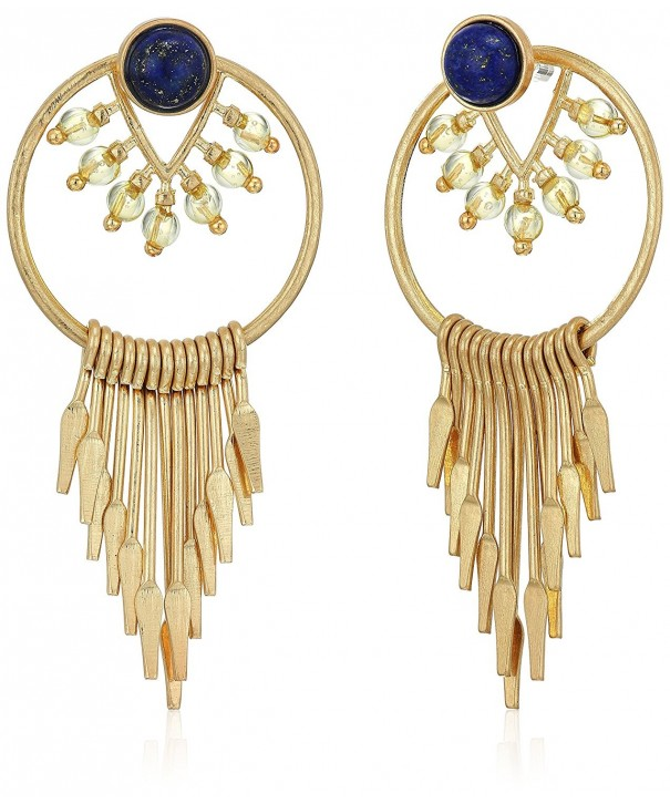Danielle Nicole Constanza Hoop Earrings