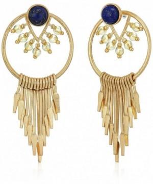 Danielle Nicole Constanza Hoop Earrings
