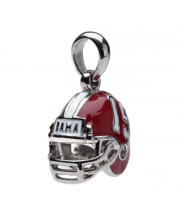 University Alabama Stainless Pendant Bracelets