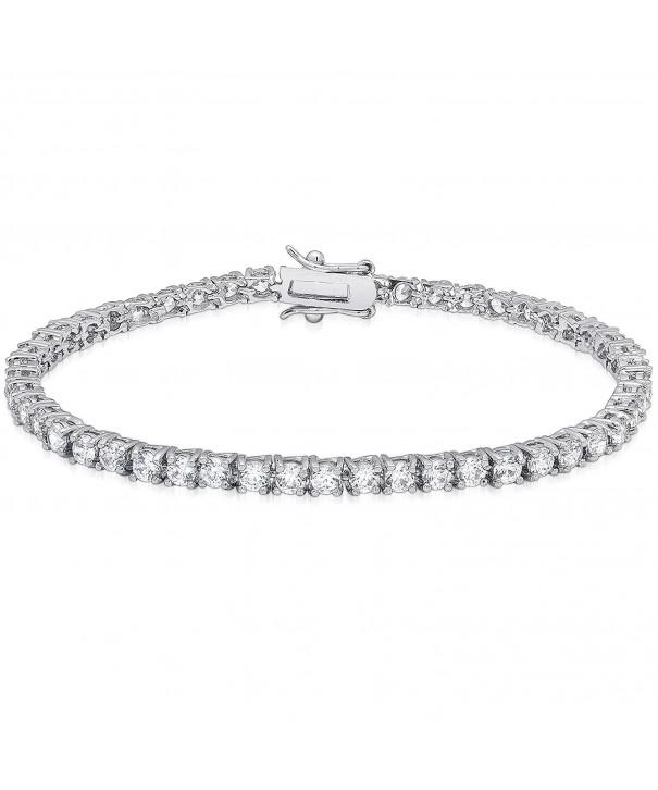 Dolce Giavonna Zirconia Classic Bracelet