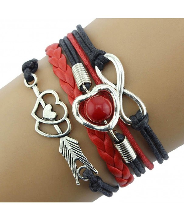 Kingfansion Infinity Friendship Antique Bracelet