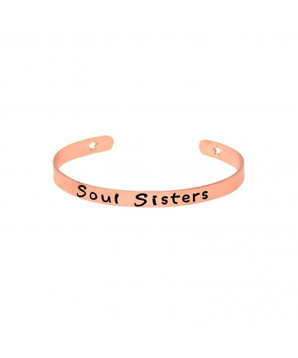 SOUL SISTER Open Bangle Bracelet