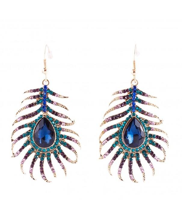 Frogwill Crystal Earrings Sparkling Rhinestone