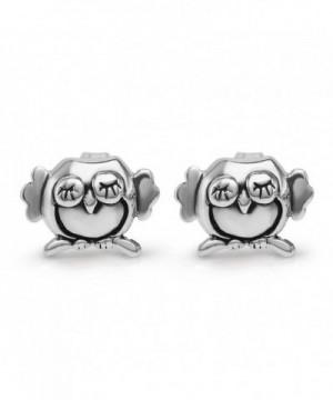 Sterling Silver Little Sleeping Earrings