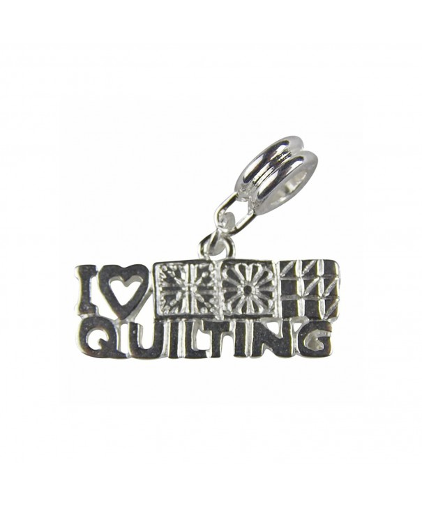 Universal I Love Quilting Charm