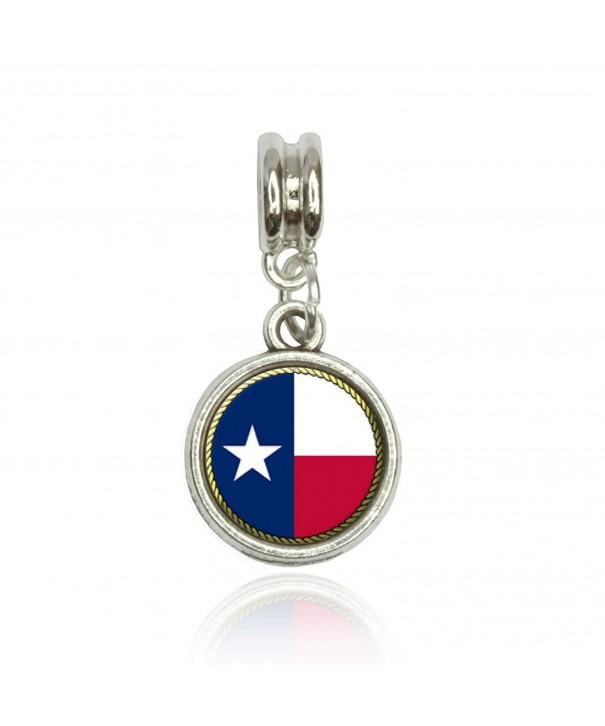 Texas State European Italian Bracelet