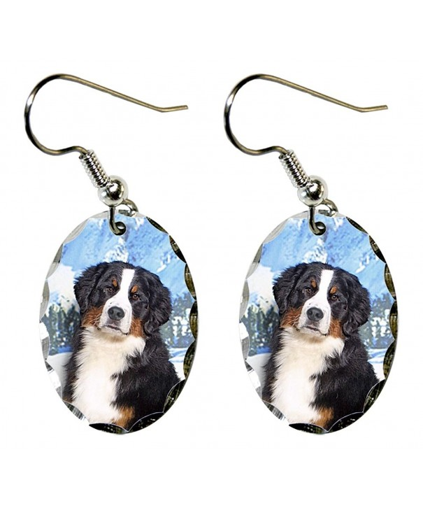 Canine Designs Mountain Scalloped Earrings