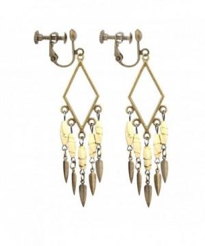 Handicrafts Bohemian Vintage Earrings Pierced
