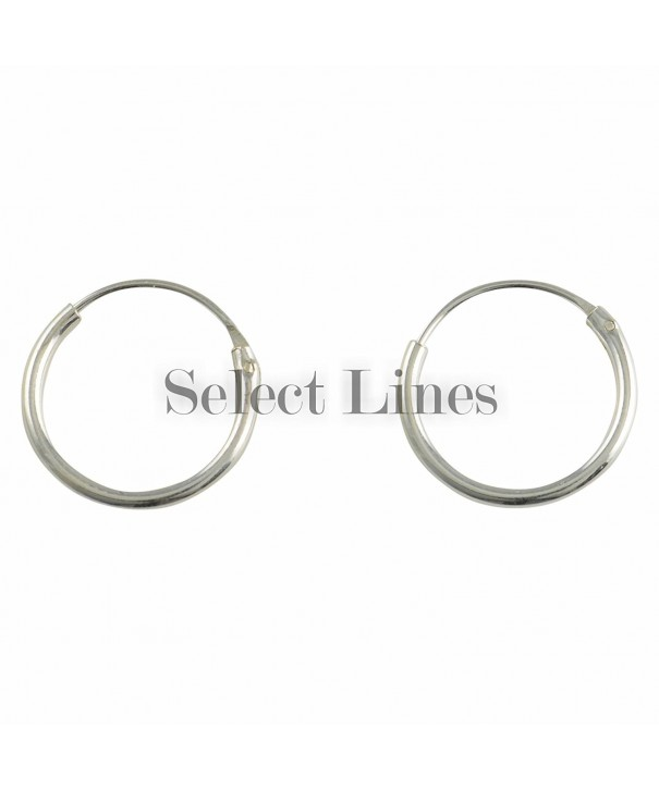 Sterling Endless Earrings Genuine Jewelry