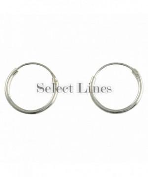 Sterling Endless Earrings Genuine Jewelry