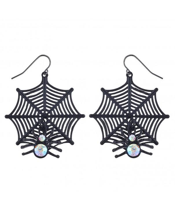 Lux Accessories Halloween Costume Earrings