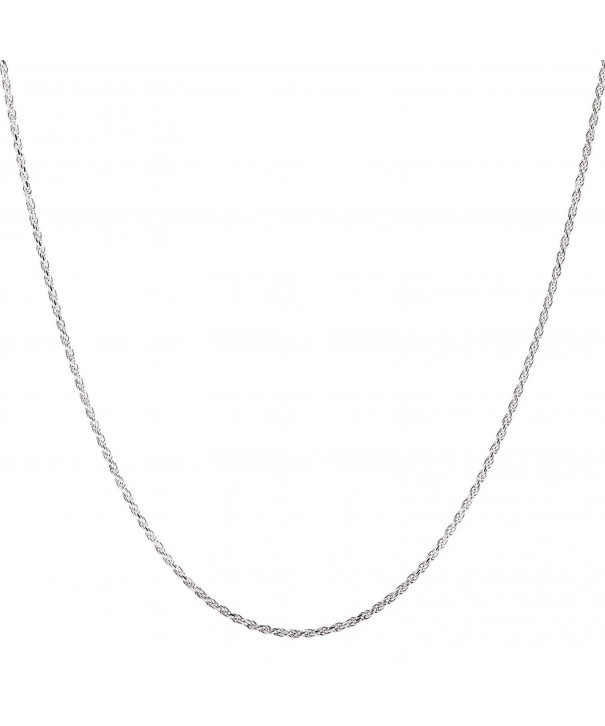 Sterling Silver Chain Lobster Clasp