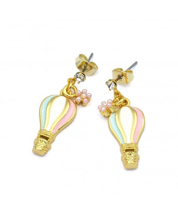 Balloon Earrings Minimalist Geometric RSN4586