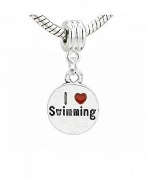 Swimming Charm Dangle snake Bracelet