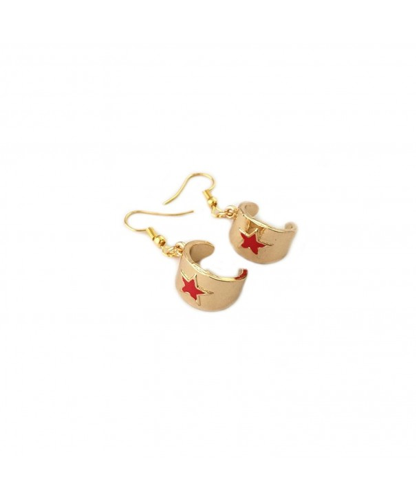 Wonder Woman Dangle Earrings Superheroes