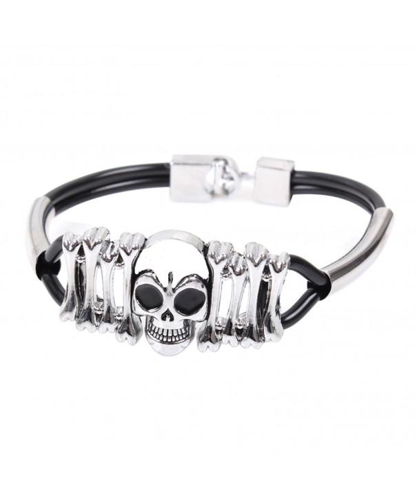 Modern Fantasy Spades Titanium Bracelet