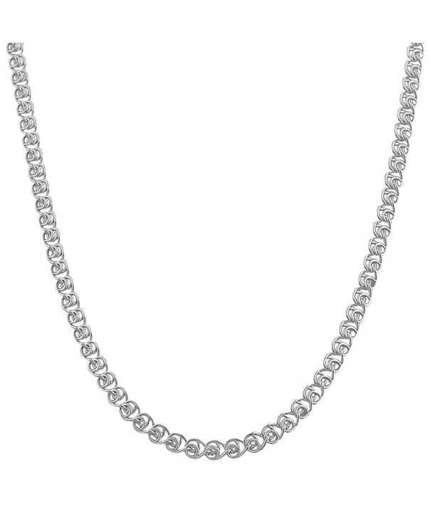 Sterling Silver 3 5mm Love Chain