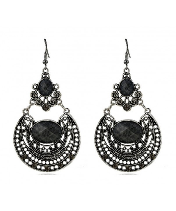 Bohemian Elegant Rhinestone Victorian Earrings