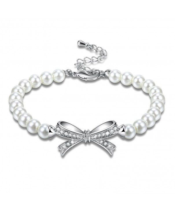 Angelady Bracelet Zirconia Birthday Anniversary