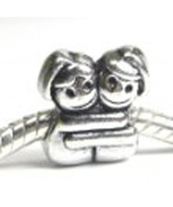 European Sisters Friends Hugging Bracelet