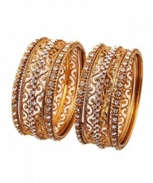 Touchstone Collection Rhinestone Bollywood Bracelets