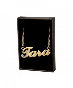 Name Necklace Tara Gold Plated