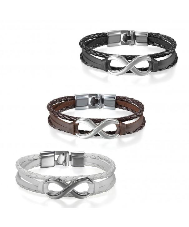 Flongo Infinity Bracelet Friendship Wristband