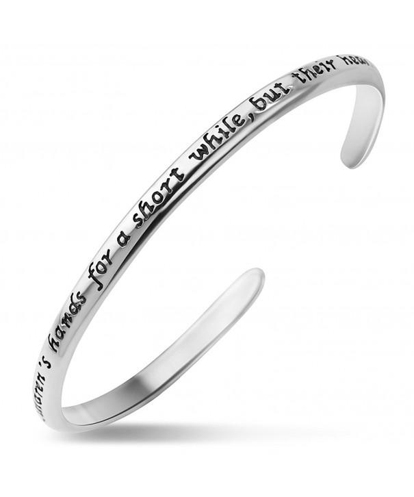 Silver Mother childrens forever Bracelet