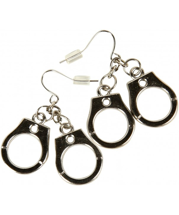 Rubies Handcuff Earrings