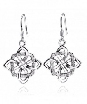 JUFU Womens Sterling Silver Earrings