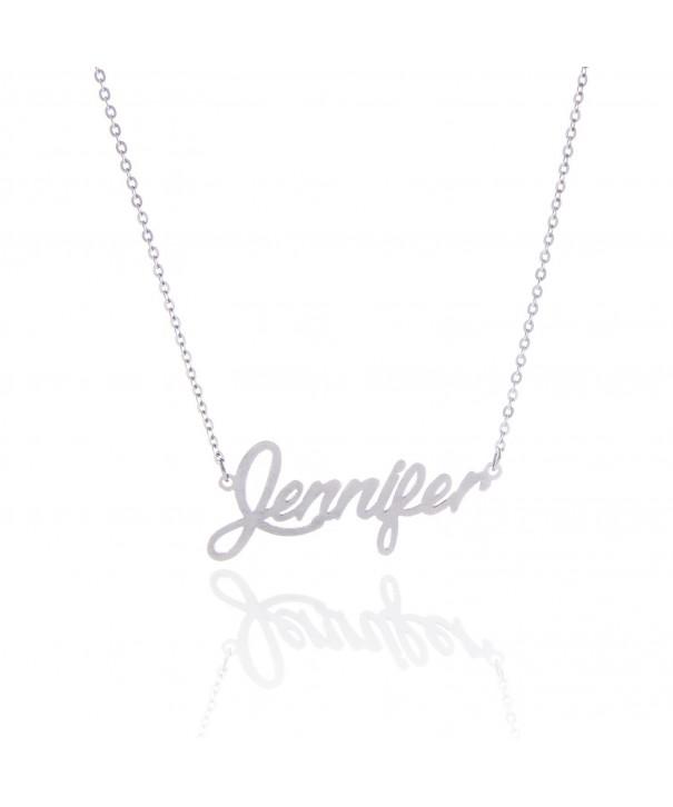 AOLO Unique Friendship Necklace Jennifer