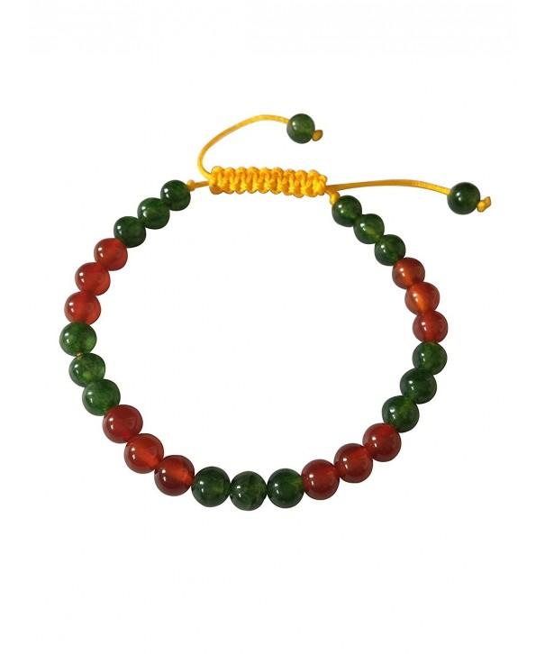 Tibetan Green Carnelian Bracelet Meditation