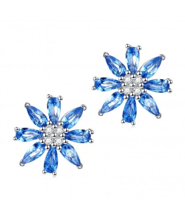 Valentines Jewelry Sterling Zirconia Earrings