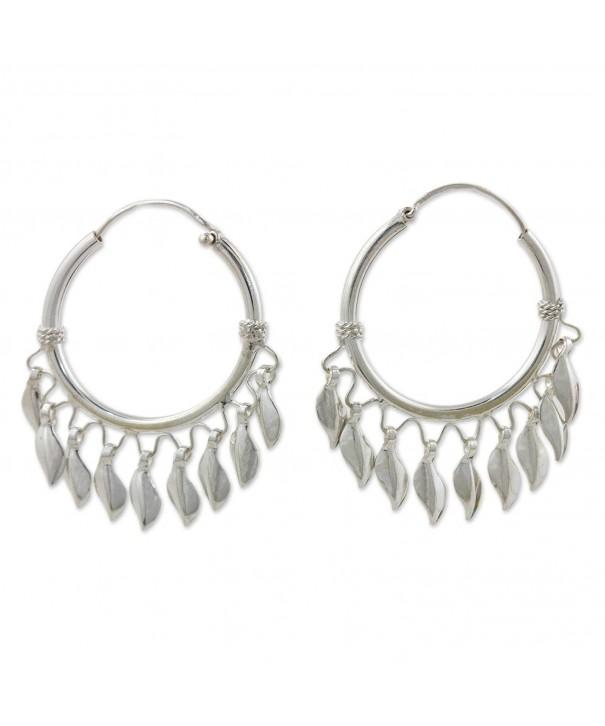 NOVICA Sterling Silver Chandelier Earrings