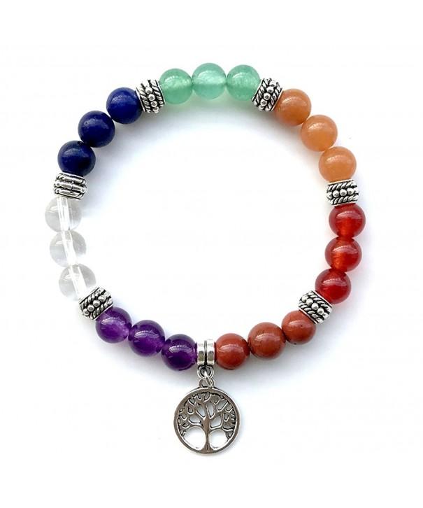 Domika Chakras Meditation Balancing Bracelet