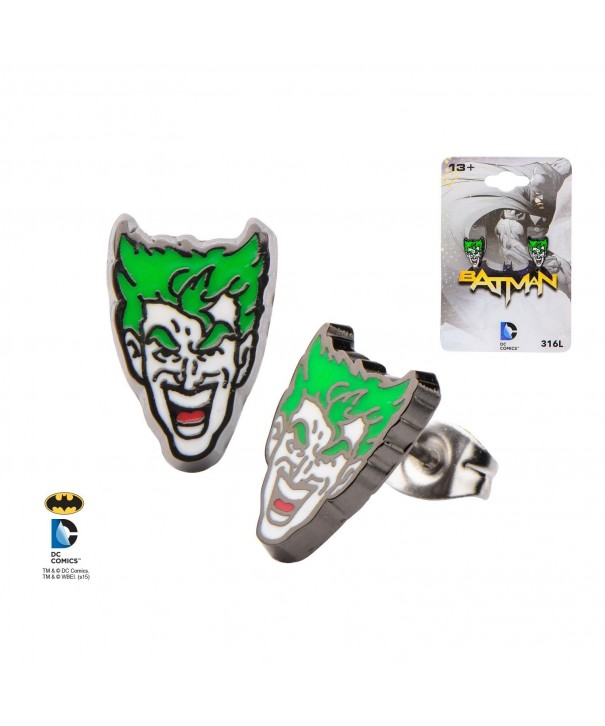 Joker Earrings DC Comics Batman