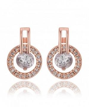 Plated Earrings Women Jewelry Zirconia