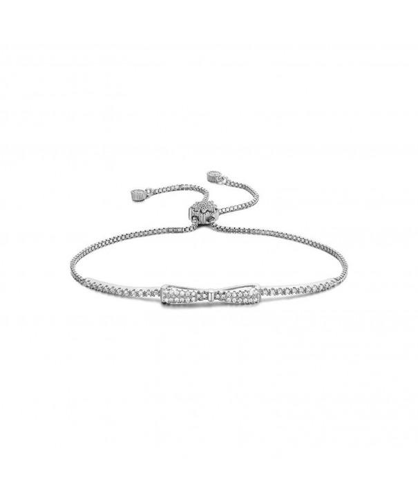 SHINCO Bowknot Diamond Bracelets Jewelry
